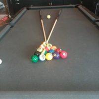 Blank & Hide Pool Table