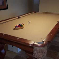Ambrosia 8 FT Pool Table