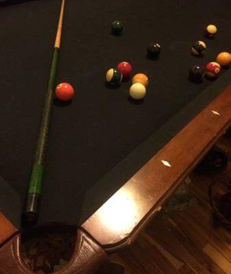 Big Pool Table