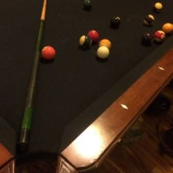 Big Pool Table
