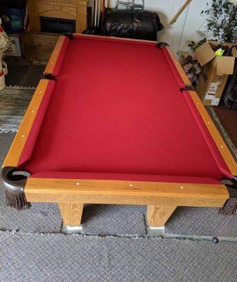 8' Foot Slate pool Table