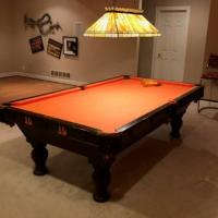 Bengals Theme Pool Table