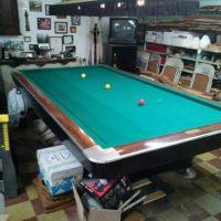 Three Cushion Billiard Table Gold CrownI