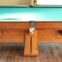 Brunswick Collender Pool Table