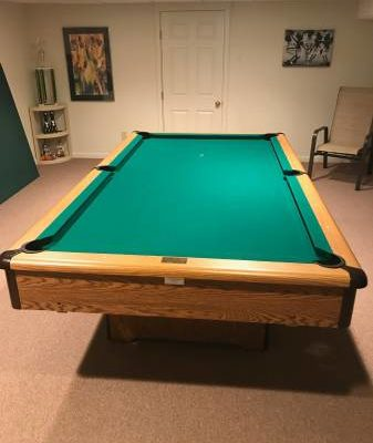 8' AMF PlayMaster Pool Table