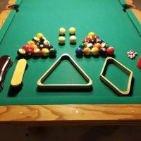 ProLine Oak Pool Billiards Table