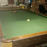 Antique 4X9 Pool Table
