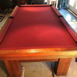 Gandy 8' Pool Table