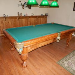 World of Leisure 8 ft pool table
